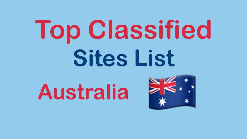 Free-Classified-Ads-Sites-List-Australia Australia Classified
