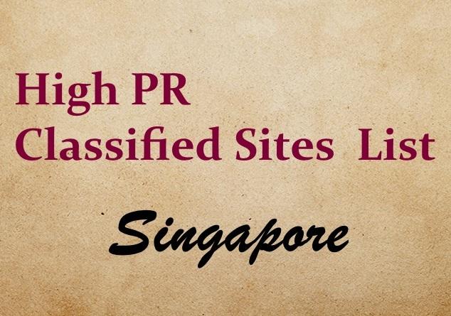 Singapore-Classified-Sites-List Singapore Classified sites list