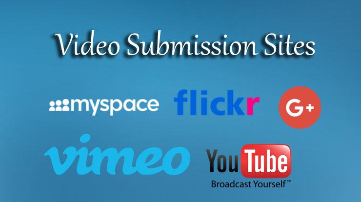 Video-Submission-Sites Video Submission Sites List