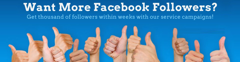 facebook-Followers- How to increase facebook followers