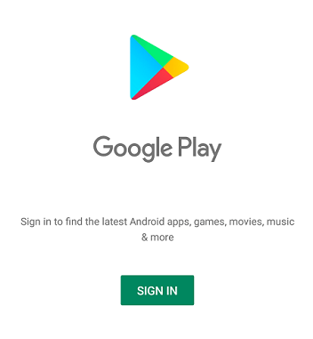 Google-Play-Sign-In How to create Google Play Store ID?
