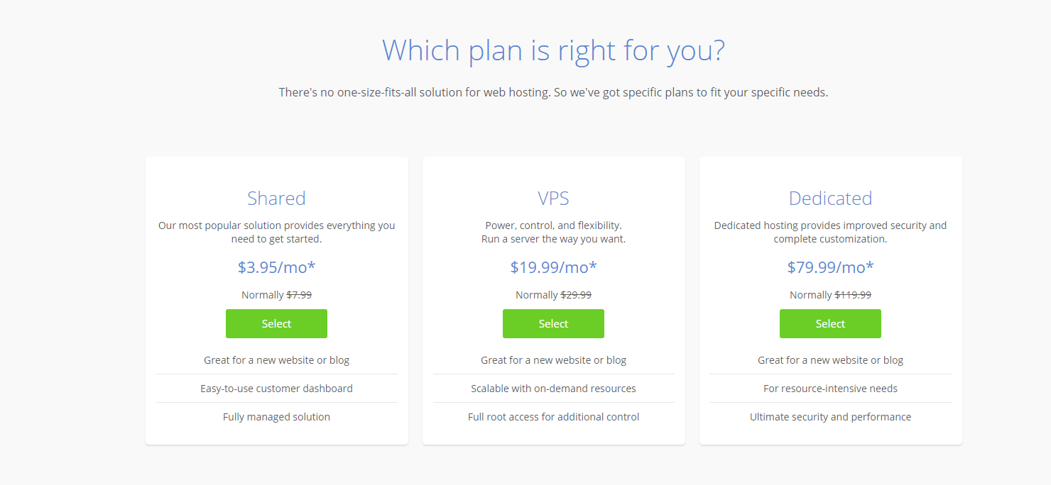 Bluehost-Hosting-Plans How To Buy Cheap Web Hosting
